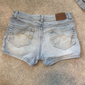 Justice stretch jean shorts Simply Low 10 R